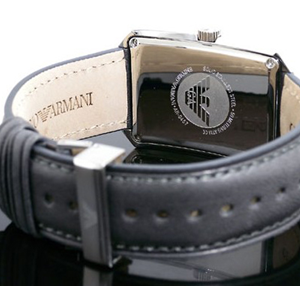 Emporio Armani Classic Rectangular Watch AR0457