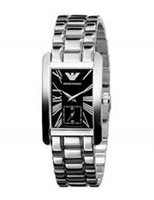 Armani Classic Black Women's Ar0157 Steel Watch-0