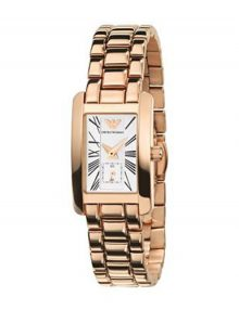 Armani Classic Silver Women's Ar0174 Gold Watch-0