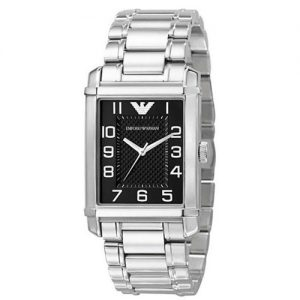 Armani Analog Black Men's Ar0493 Steel Watch-0