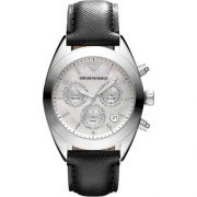 Emporio Armani AR5961 Sportivo Ladies Stainless Steel Cronograph Watch
