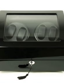 Watch case 4 Automatic Black watch Display box case