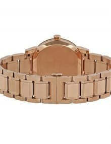 Burberry City Bu9034 Rose Gold Womens' Rose Gold Analog Watch-15086