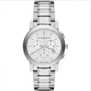 Burberry BU9750 The City Stainless Steel Chronograph Ladies Watch