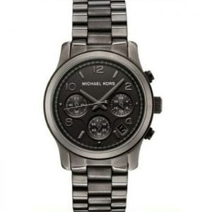 Michael Kors MK5170 Gun Metal Chronograph Quartz Women's Watch Model