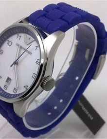 Emporio Armani AR5881 Ladies Purple Silicon Rubber Band Best Watch