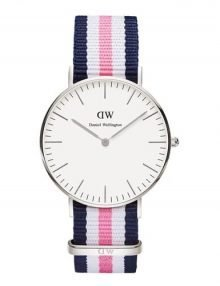 Daniel Wellington 0605DW Southampton Women's Classic White Dial with Multi-color Band 36mm