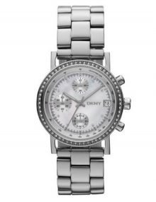 DKNY NY8339 Chronograph Mother of Pearl Ladies Watch