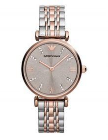 Emporio Armani - AR1840 - Ladies Stainless Steel - Rose gold Watch