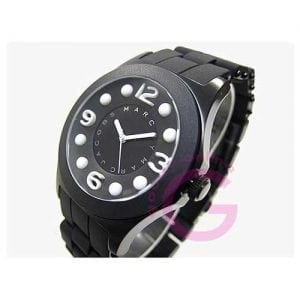 Marc by Marc Jacobs all back silicone womens quartz watch -8923