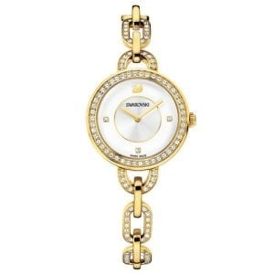 Swarovski 1124151 Aila Females Yellow Gold Tone Bracelet Watch