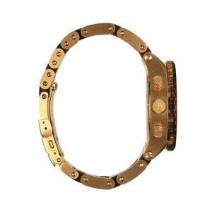 Nixon 51-30 Unisex Gold Dial Chronograph A0371424 Watch-8652