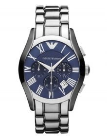 Emporio Armanistainless steelstainless steel Blue Dial Chronograph Midsize Watch AR1635