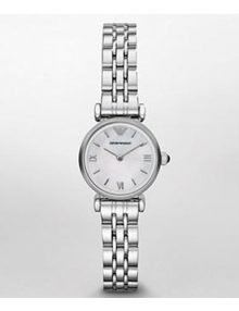 Emporio Armani AR1688 Ladies White Dialstainless steelstainless steel Watch