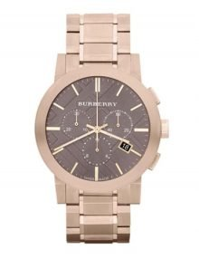 Burberry BU9353 Rose Gold Plated Men's Stainless Steel Watch with