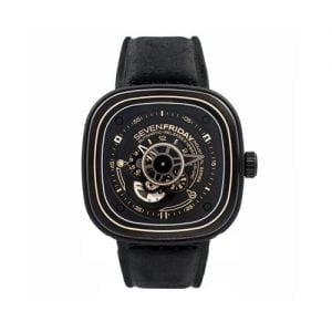 Sevenfriday P2-02 Black Automatic Japanese Movement Wrist Watch