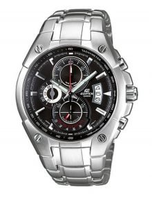 Casio Edifice EF-555D-1A Gents Stainles Steel Chronograph Watch