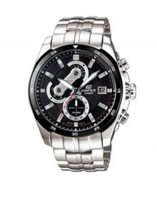 Casio Edifice EF-557D-1AV Gents Stainles Steel Chronograph Watch