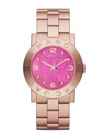 Marc by Marc Jacobs Amy MBM8625 Ladies Rose Gold Plated Stainless Steel Watch