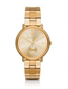 Michael Kors Jaryn MK3500 Ladies Gold Plated Stainles Steel Watch