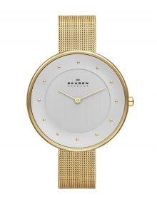 Skagen SKW2141 Ladies Gold Plated Stainles Steel Watch