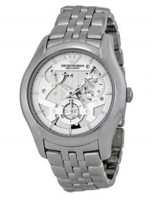 Emporio Armani AR4676 Meccanico Gents Stainless Steel Automatic Watch