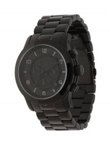 Michael Kors MK8157 Runway Men's Black Dial Black Stainless-Steel Quartz Watch