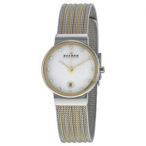 Skagen 355SSGS Ancher Ladies Stainless Steel Round Watch