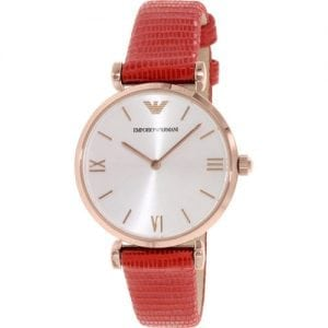 Emporio Armani AR1876 Classic Ladies Rose Gold Plated Watch
