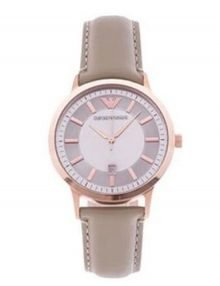 Emporio Armani AR2466 Classic Ladies Rose Gold Plated Watch
