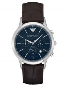 Emporio Armani AR2494 Classic Gents Stainless Steel Cronograph Watch