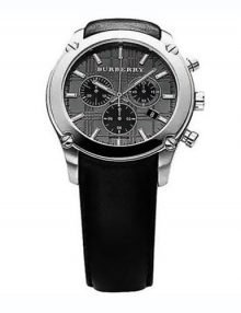 Burberry BU1855 Heritage Gents Stainless Steel Chronograph Watch