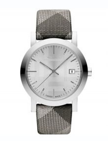 Burberry BU1873 Shimmer Check Ladies Stainless Steel Watch