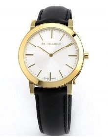 Burberry BU2353 Slim Gents Gold Plated Stainless Steel Watch