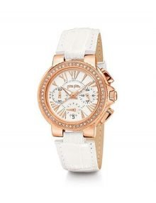 Folli Follie WF14B015SES Watchalicious Ladies Rose Gold Plated Chronograph Watch