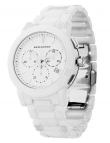 Burberry Bu9080 Silver Wnisexr Unisex Watch-17843