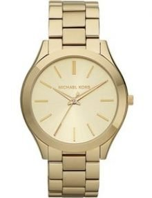 Michael Kors Women's MK3179 Runway Gold Watch